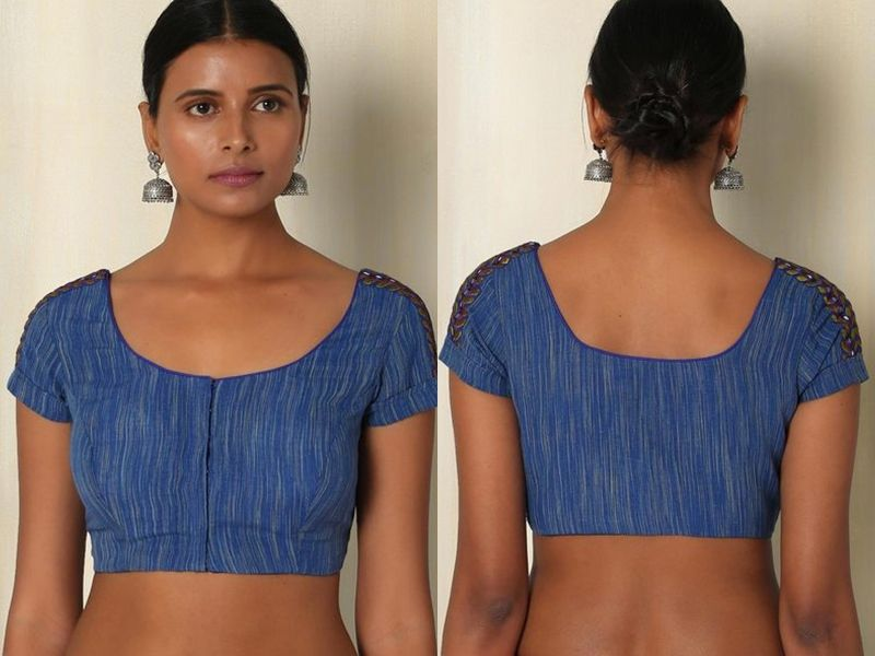 top 10 simpal blouse designs