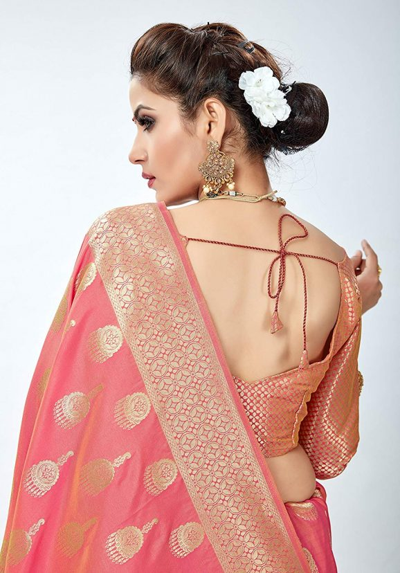 Banarasi Silk Saree Blouse Designs