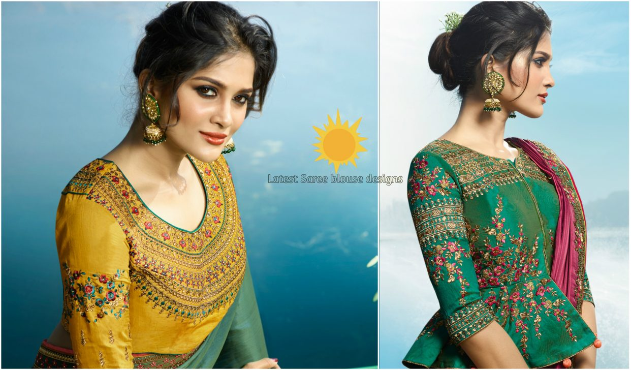 Top 10 latest blouse designs Catalogs For Saree Blouse – styleoflady