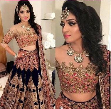 Top 10 Latest lehenga blouse design & Patterns