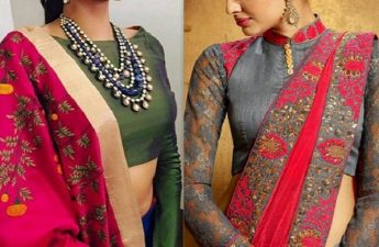 long blouse designs, long blouse designs for sarees, long blouse designs iages, style of lady