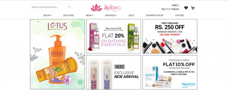 Top 5 Best Online Shopping Sites For Buy Beauty Products In India – Style Of Lady