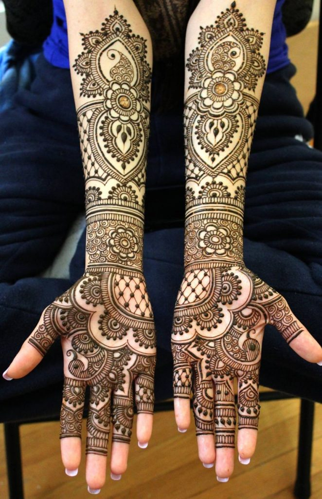 Top 10 Bridal Mehndi Designs Latest Mehndi Designs Image