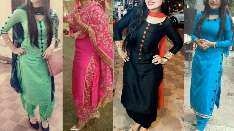Women, all over India and the World, Love the Punjabi Salwar Suit