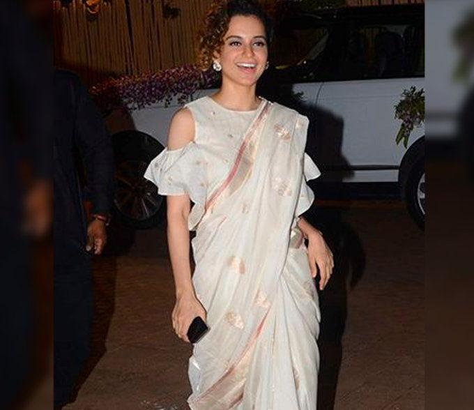Sarees with unique blouse