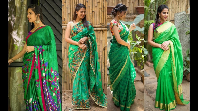 14 Beautifully Woven Kota Doria Sarees & Kota Saree Designs