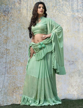 New Party Wear Indian Saree Culture 2019