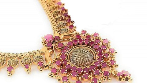 AFJ GOLD 1 Gram Micro Gold Plated South Indian Traditional Fashion