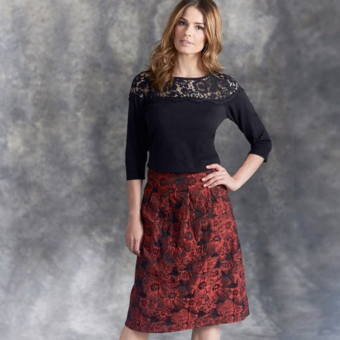 The Midi Skirt Combination