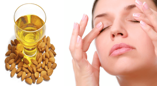 get rid of Dark Circles Almond Oil