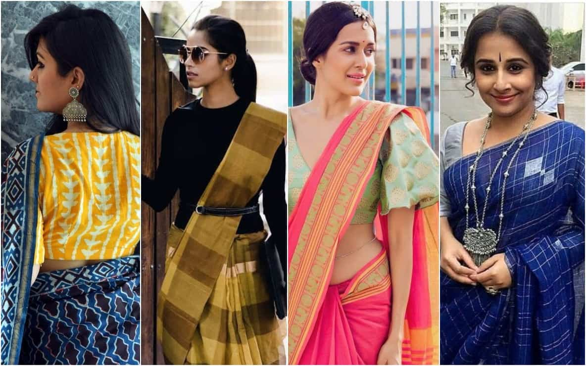 introduction to linen sarees, linen sarees