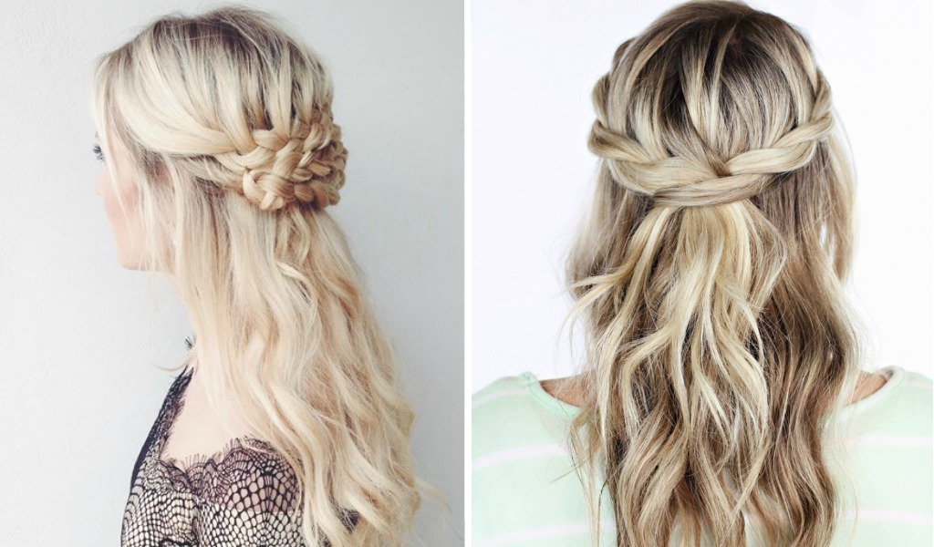 hairstyles to enhance your party, Party Hairstyle