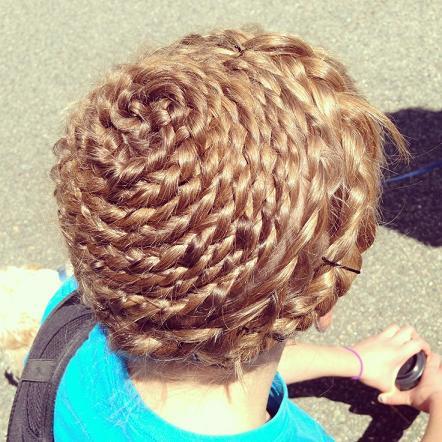 Basket of braids Hairstyle