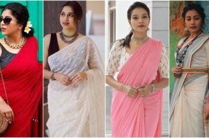 Buy Linen Sarees Online