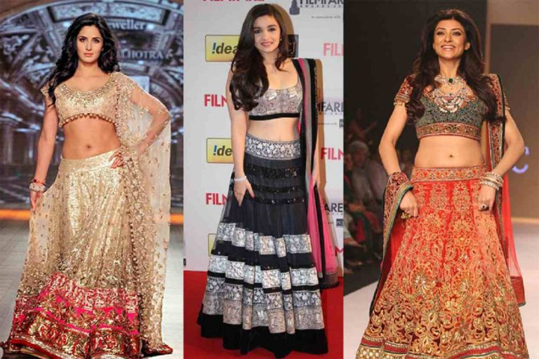 Partywear Lehengas – Rock the Party with these Simmering Ensembles