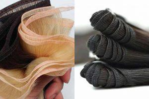 Flat Silk Weft Hair Vs. Hand-Tied Vs