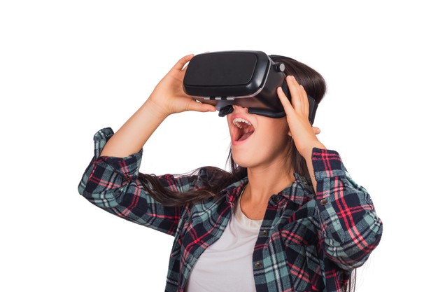 Use the feature of Virtual Reality