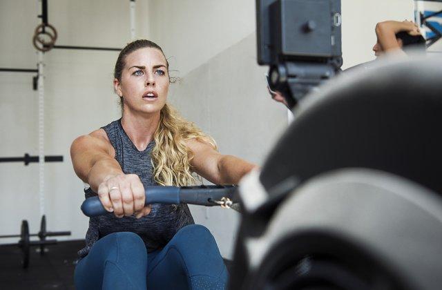Get workout equipment