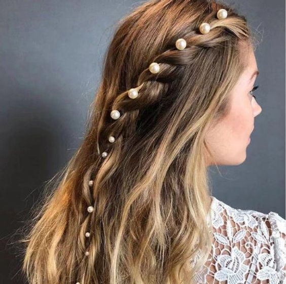 Bobby Pins with Pearls
