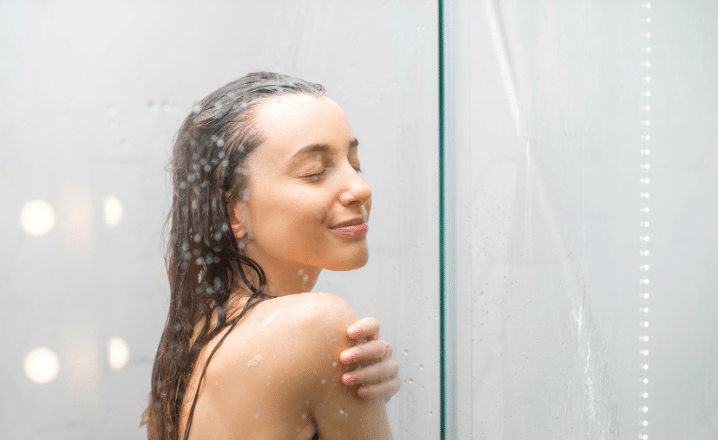 Wash your Face or Take a Shower