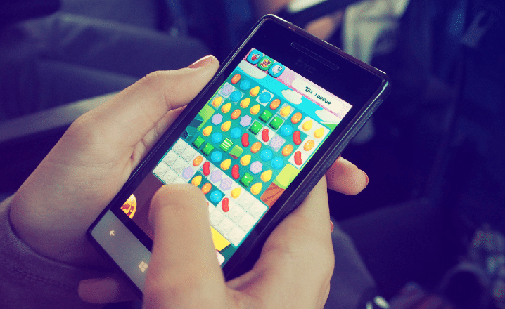Play Anti-Stress Games on Smartphones