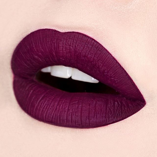Pleasantly plum shade lipstick color